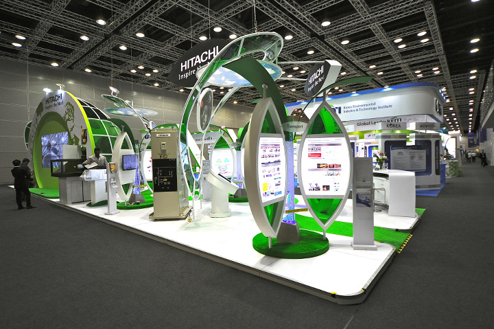 Exhibition Booth Activities : International greentech eco products exhibition