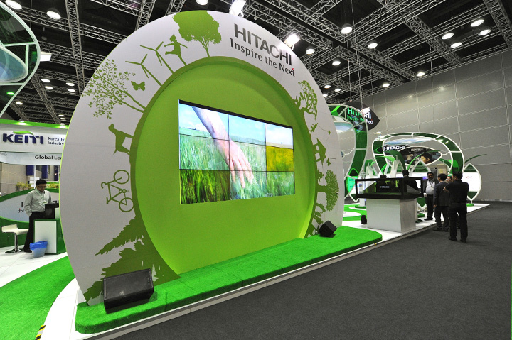 Exhibition Stand Attractions And Games Ideas : International greentech eco products exhibition
